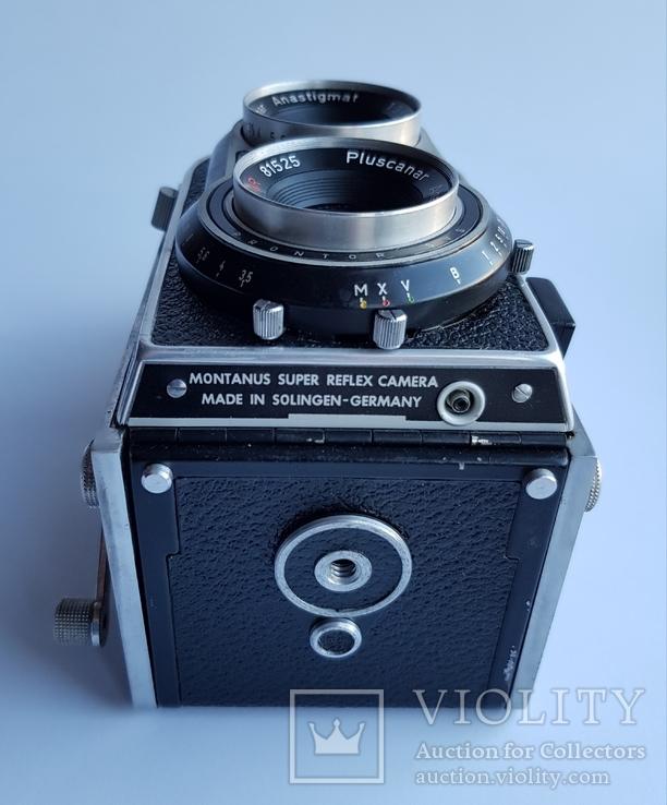 Ретро фотокамера Rocca Montanus super reflex camera. Made in Solingen- Germanny, фото №5