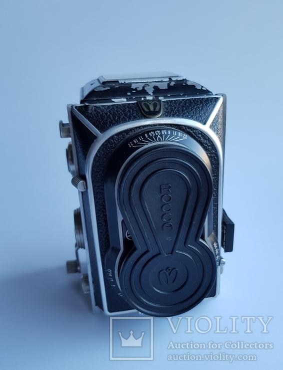 Ретро фотокамера Rocca Montanus super reflex camera. Made in Solingen- Germanny, фото №9