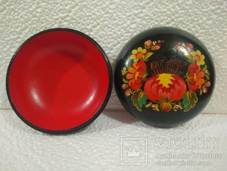 Шкатулки и тарелочки (СССР), фото №3