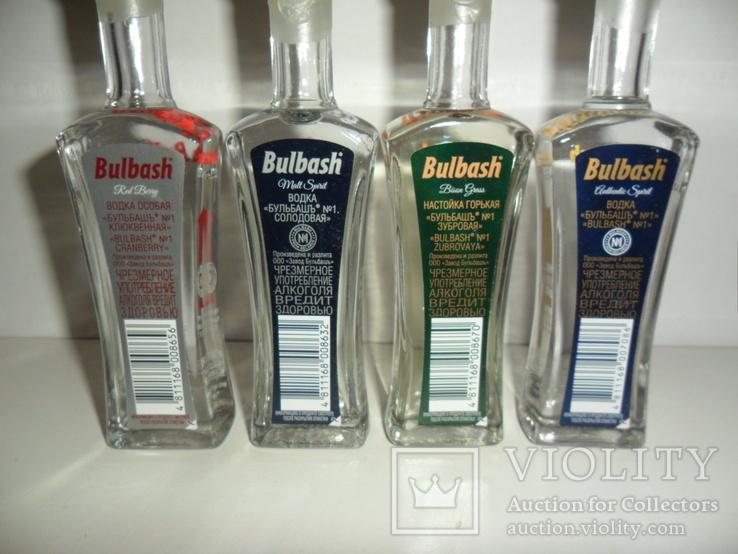 """Набор водки """"Bulbash"""" 4 шт. по 50 мл., фото №7"""