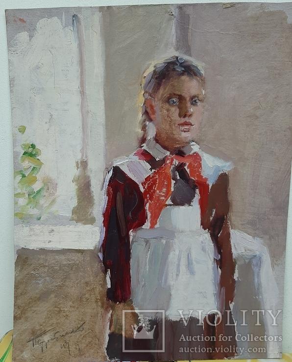 Стратиенко  П., Пионерка, 1949 г., фото №2
