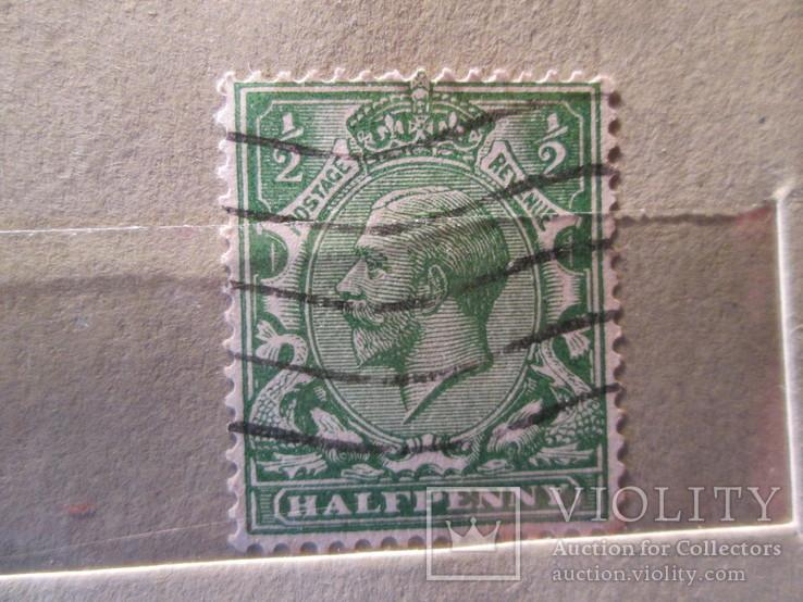 Великобритания 1924 -1928 король Георг V, 1865-1935 гаш