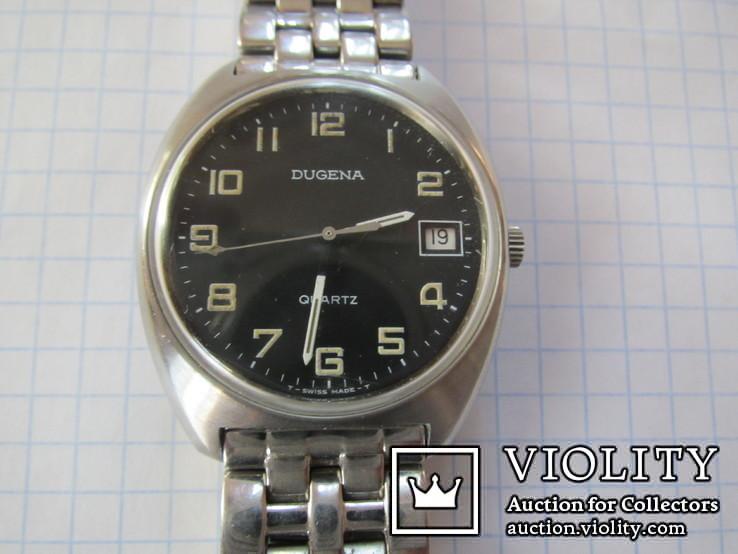 Часы Dugena swiss кварц, фото №3