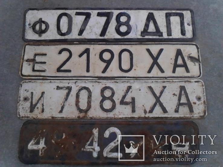 Номера авто - 4 шт., фото №3