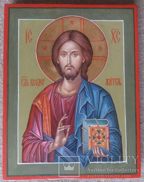 Икона Иисус Вседержитель (Пантократор). Спаситель. Иисус Христос., фото №3