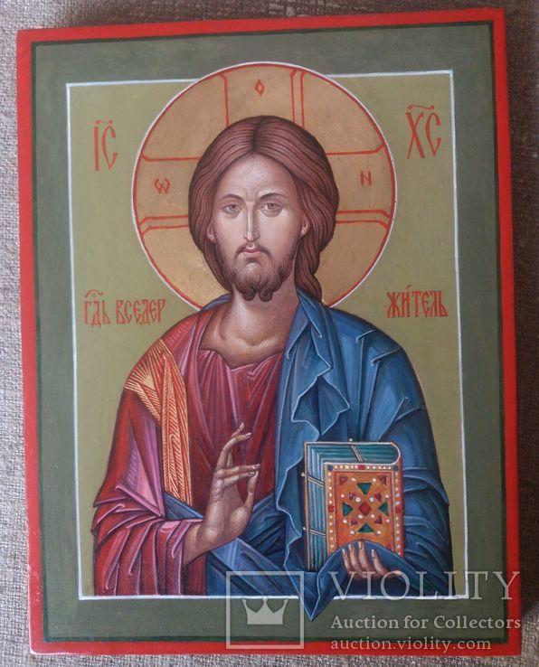 Икона Иисус Вседержитель (Пантократор). Спаситель. Иисус Христос., фото №5