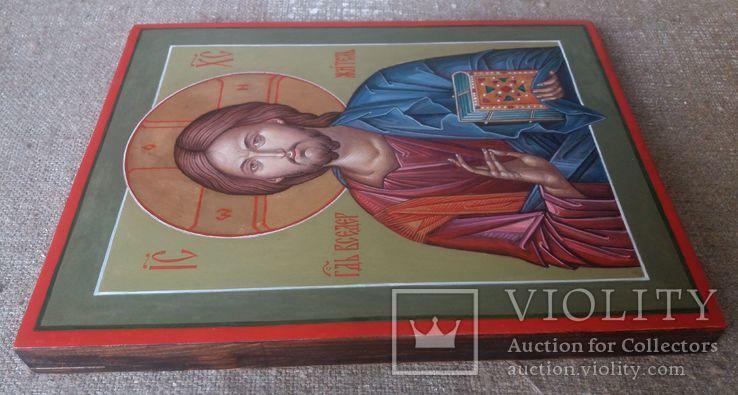 Икона Иисус Вседержитель (Пантократор). Спаситель. Иисус Христос., фото №6