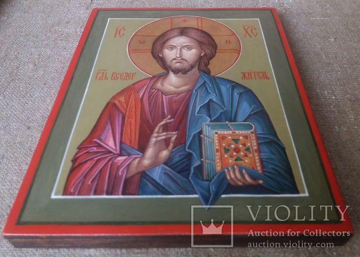 Икона Иисус Вседержитель (Пантократор). Спаситель. Иисус Христос., фото №8