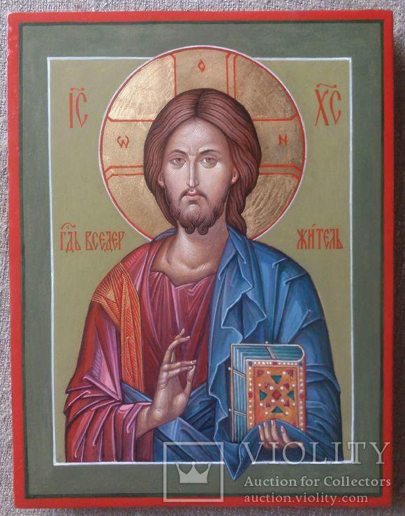 Икона Иисус Вседержитель (Пантократор). Спаситель. Иисус Христос., фото №10