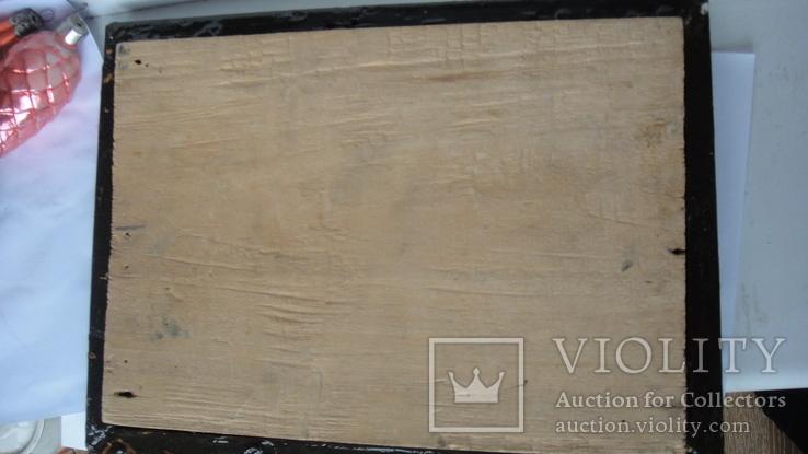 5 старинных икон одним лотом: Святой Троицы, Богородицы, Вседержитель - 3шт., фото №8