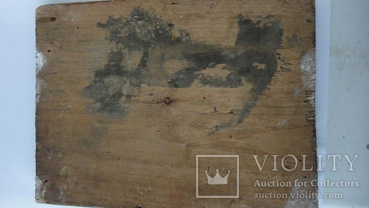 5 старинных икон одним лотом: Святой Троицы, Богородицы, Вседержитель - 3шт., фото №11