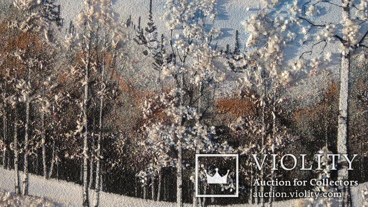 Природный пейзаж из уральских камней, самоцветы  СССР, фото №8
