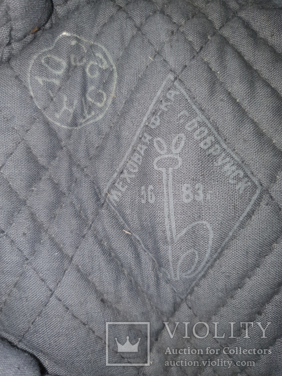 Шапка ушанка солдатская, фото №4