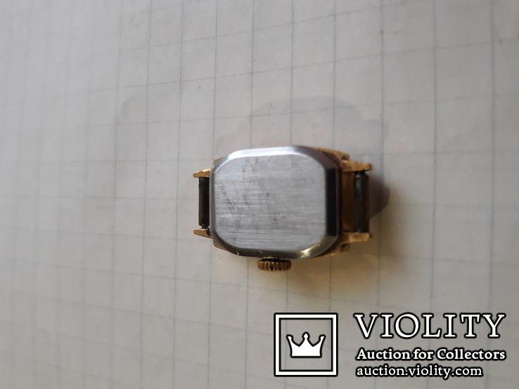 Часы ссср Заря в позолоченом корпусе, фото №6