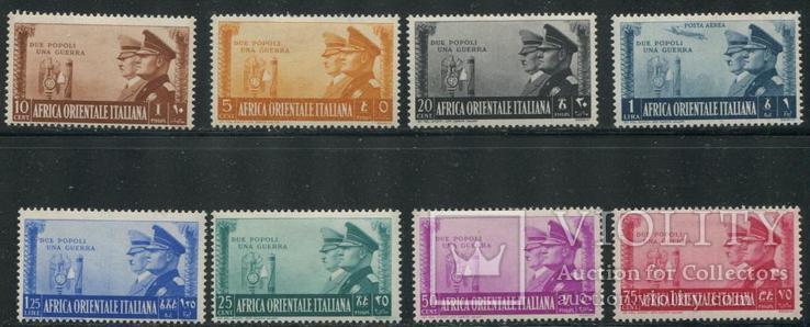 1941 Итальянская Восточная Африка Гитлер и Муссолини, фото №2