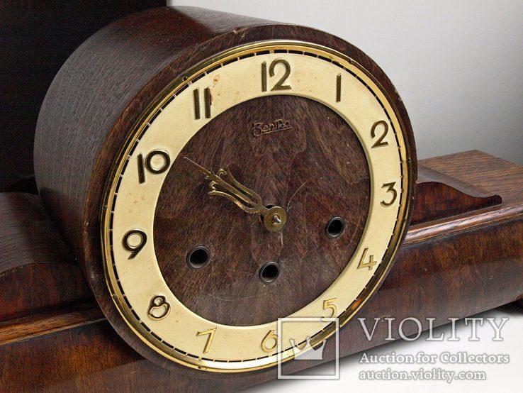 """Часы  """"Zentra"""" c четвертным боем,Германия, фото №6"""