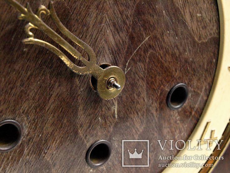 """Часы  """"Zentra"""" c четвертным боем,Германия, фото №7"""