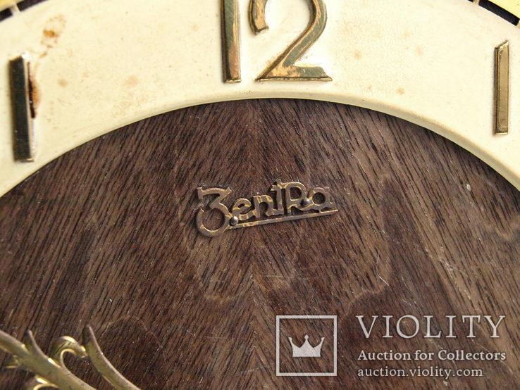 """Часы  """"Zentra"""" c четвертным боем,Германия, фото №8"""