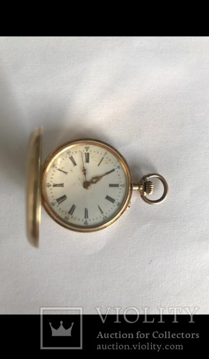 Золотые Швейцарские часы., фото №5