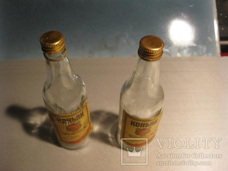 Пляшка від коньяку 100грам ссср 2шт, фото №5