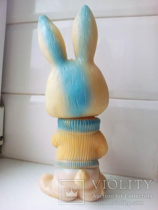 Игрушка заяц - лыжник., фото №4