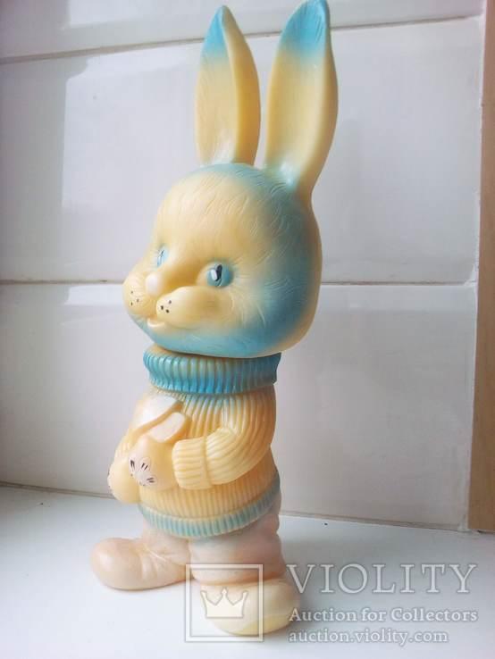Игрушка заяц - лыжник., фото №5
