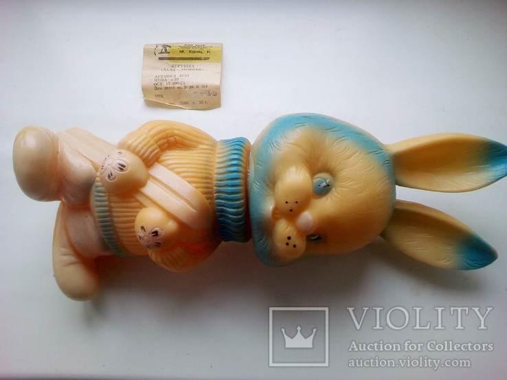 Игрушка заяц - лыжник., фото №8