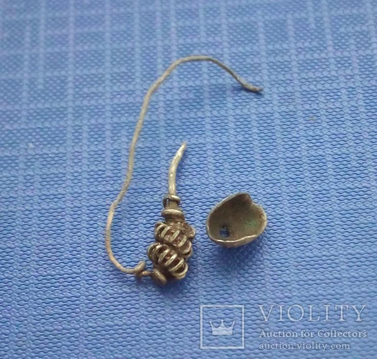 Середньовікова сережка, фото №4