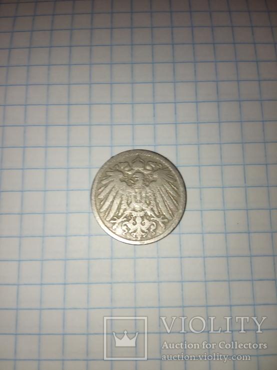 Германия 10 пфеннигов, 1891, фото №4