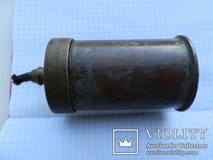 Лампа-коптилка из гильзы, фото №3