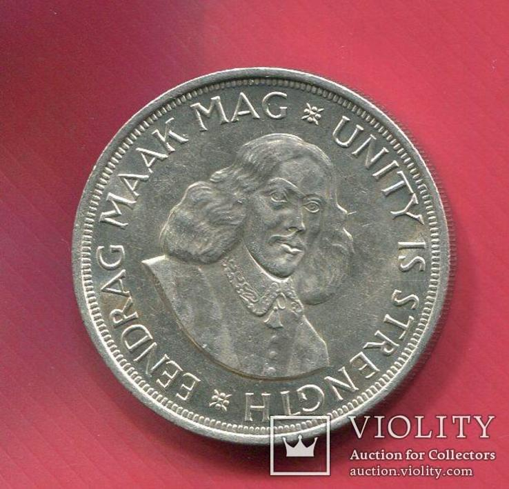 Южная Африка 50 центов (крона) 1964 Мак Маг, фото №3