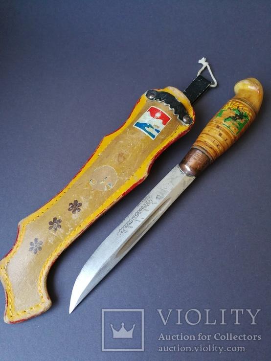 Нож Puukko. N17