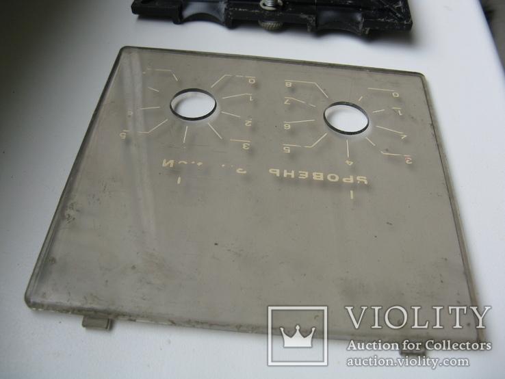 Магнитофонные,зап.частикрышка- шнура,шкала регулятора, фото №9