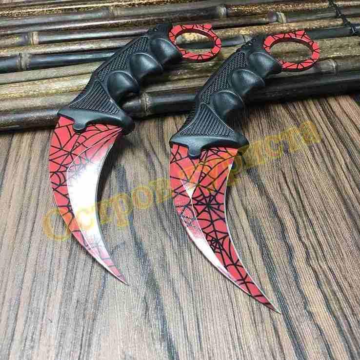 Нож керамбит Bloody Web