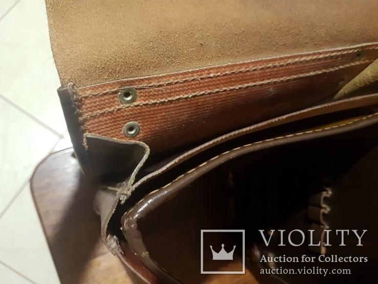 Планшет кожаный, сумка полевая Potsdam, фото №3