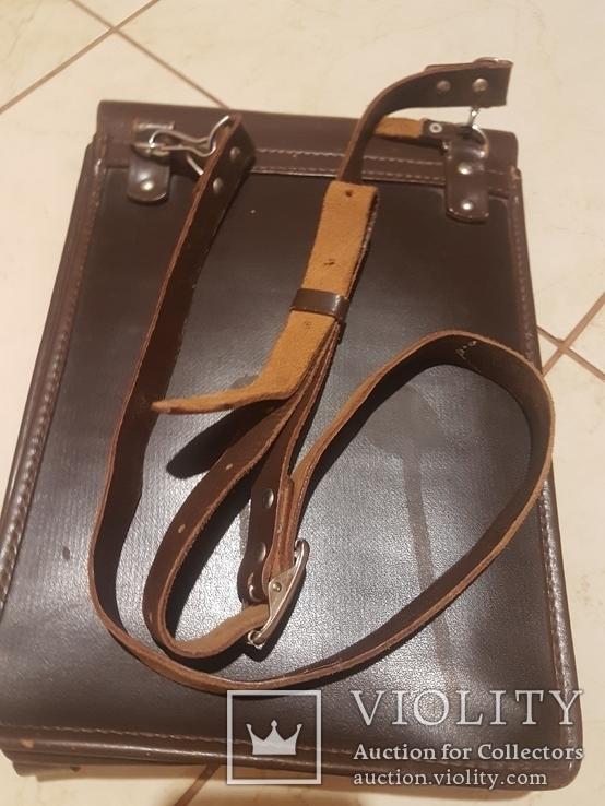 Планшет кожаный, сумка полевая Potsdam, фото №6