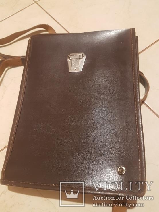 Планшет кожаный, сумка полевая Potsdam, фото №8