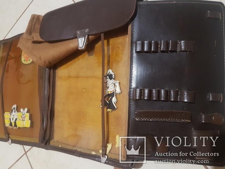 Планшет кожаный, сумка полевая Potsdam, фото №10