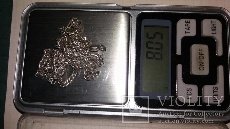 Серебренная цепочка, фото №5
