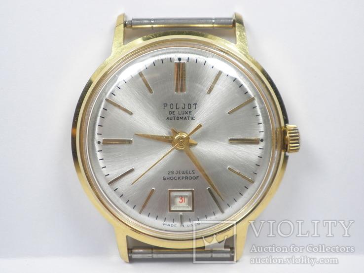 Часы ''Poljot de luxe'' позолота AU20