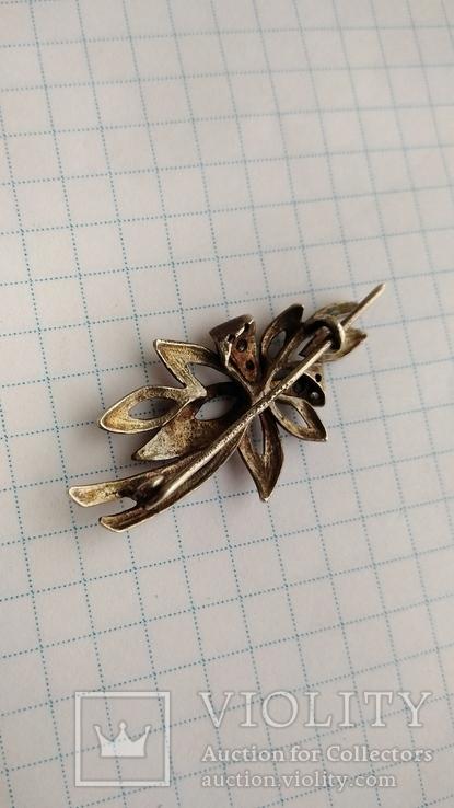 Брошь Серебро 925пр. кл.тризуб, фото №10