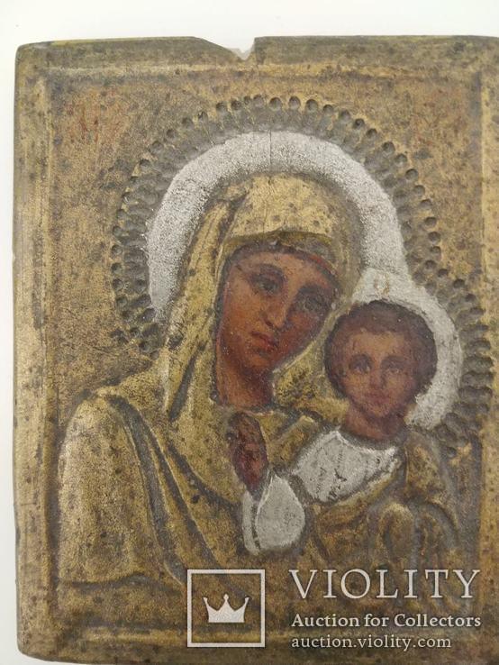 Пара Христос та Матір Божа (глина) 10.5х8.3х7, фото №5