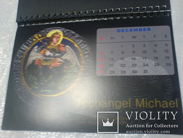 Календарь 2020 с монетами, фото №4