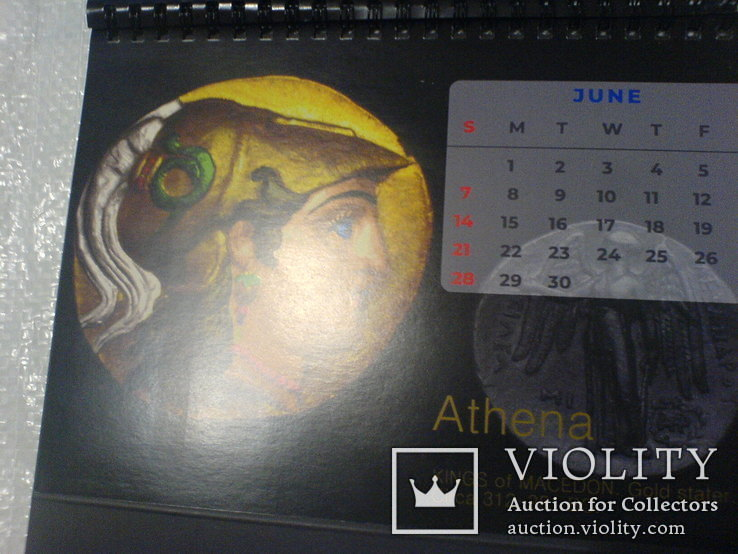 Календарь 2020 с монетами, фото №5