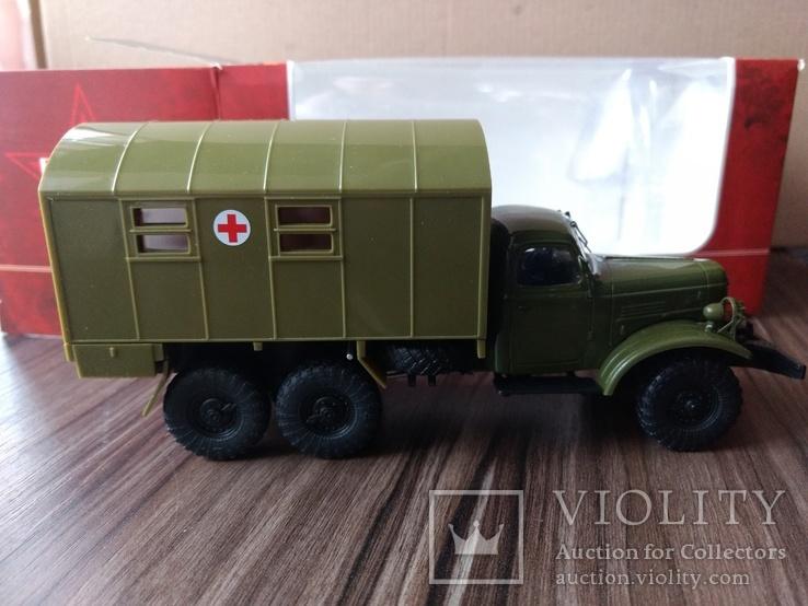 Наши грузовики TR1040 ЗИЛ-157 КУНГ-1М, фото №7