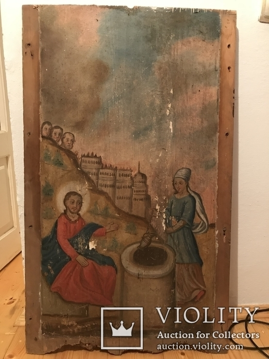 Христос та самаритянка напувальниця 98*58 см, фото №2