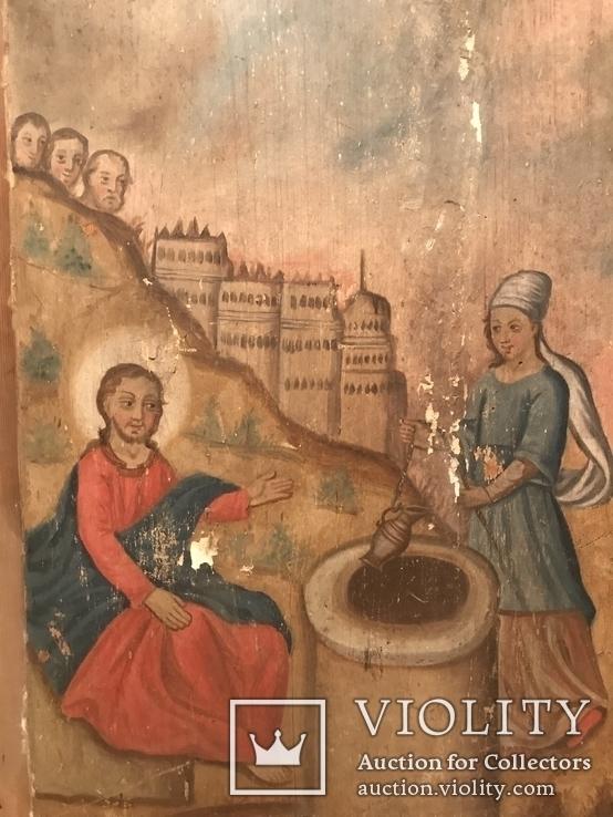 Христос та самаритянка напувальниця 98*58 см, фото №4