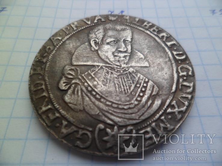 1 талер 1630 год  Альберт Германия копия, фото №3