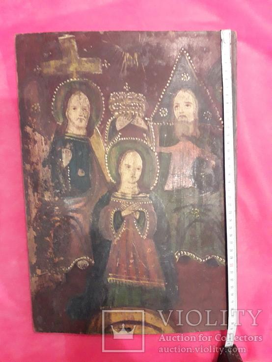 "Икона""Пресвятая троица"", фото №2"