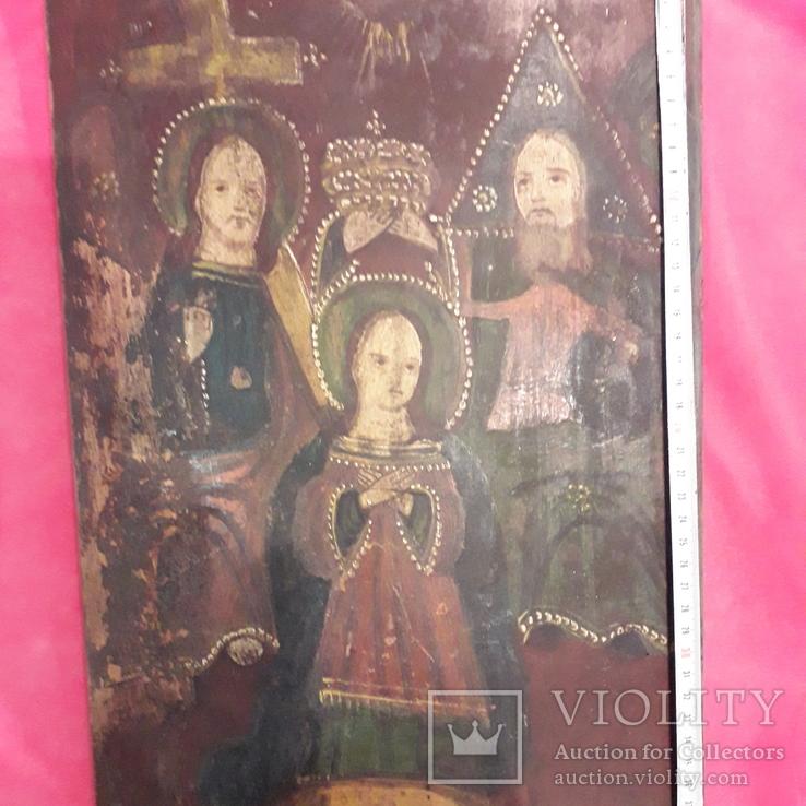 "Икона""Пресвятая троица"", фото №7"